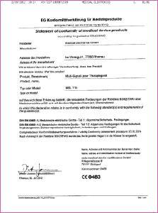 eg konformittserklrung fr medizinprodukte - Konformitatserklarung Beispiel